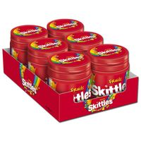 Skittles Fruits 125g, Bonbons, Dragees, 6 Dosen