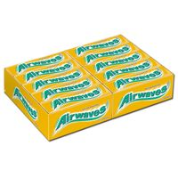 Wrigleys Airwaves Melon Menthol, Kaugummi, 30 Packungen je 16,8g