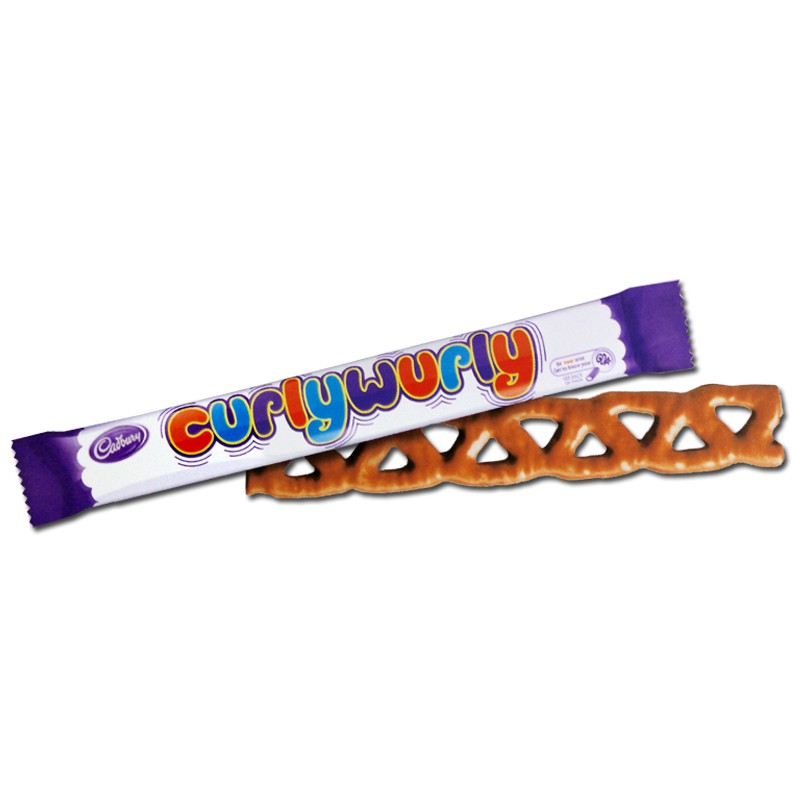 Cadbury Curly Wurly Riegel Schokolade 48 Riegel Ceres Webshop