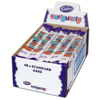 Cadbury Curly Wurly, Riegel, Schokolade, 48 Riegel