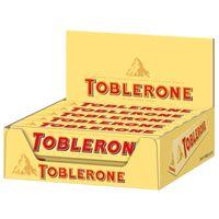 Toblerone, Riegel, Schokolade, 20 Stück je 100g