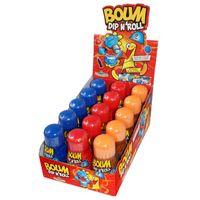 Funny Candy Boum Dip n' Roll, sauer, 15 Stück je 50g