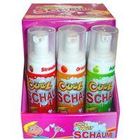 Cool Schaumi, Schaum-Spray, flüssige Süßware, 12 Stück