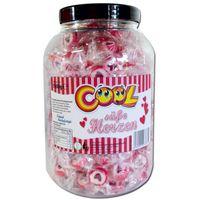 Cool Süße Herzen, Bonbons, 1 kg Dose