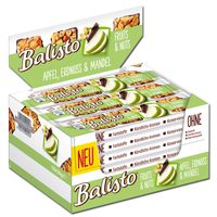 Balisto Fruits & Nuts Apfel, Erdnuss & Mandel, 18 Riegel je 34g