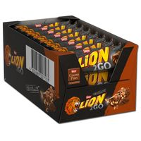 Lion 2Go Chocolate, Schokolade, 24 Riegel je 33g