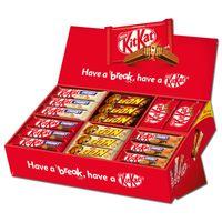 Nestle Mix-Karton KitKat, Lion, KitKat Chunky, 68 Riegel