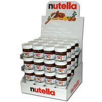 Ferrero Nutella 25g, 64 Gläser, Brotaufstrich, Nussnugatcreme