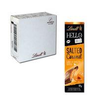 Lindt Hello Salted Caramel, Schokolade, 12 Tafeln je 100g