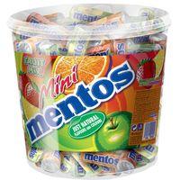Mentos Mini Fruit Mix, Frucht, Kau-Bonbon, 120 Stück