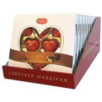 Carstens Lübecker Marzipan Herzen Classic 12 Packungen