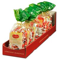 Carstens Lübecker Marzipan Frohes Fest 150g 7 Beutel