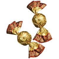 Storz Schichtnougat Kugel gold, Nougat, 60 Stück