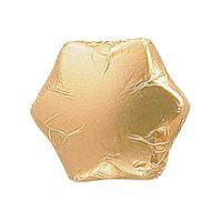 Storz Sternchen in Goldfolie, Schokolade, 200 Stück
