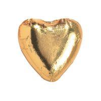 Storz Choco-Herzen GOLD, Schokolade, 100 Stück