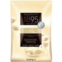 Weinrichs Kuvertüre Tropfen Weiß 1,5 kg, Schokolade