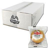 Willis Muffin Vanille 55g einzeln verpackt, 30 Stück
