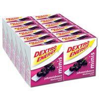 Dextro Energy Minis Johannisbeere, 12 Packungen
