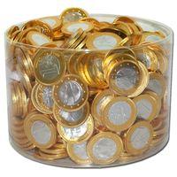 Milch-Schokoladen Euro-Münzen Schokoladen-Taler 360 Stk