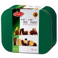Delacre Tea Time Kekse Gebäck 1 Kg Dose