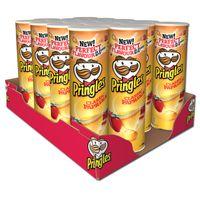 Pringles Paprika Chips Dose 190g, 19 Stück