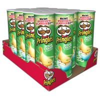 Pringles Sour Cream Onion Chips Dose 190g, 19 Stück