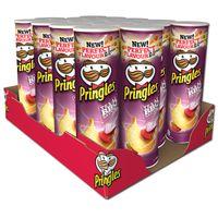 Pringles Texas BBQ Sauce Chips 190g Dose, 19 Stück