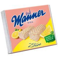 Manner Zitronen-Schnitten, Neapolitaner, Waffel, 12 Stück