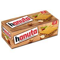 Ferrero Hanuta Einzel-Waffel-Riegel, Schokolade, 10 Stück