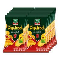 Funny Frisch Chipsfrisch ungarisch 50g, 12 Beutel