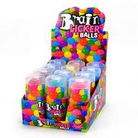 Brain Licker Balls, saure Flüssigkeit, 12 Stück