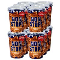Non Stop Mini Chokolate Cookies, Kekse, 12 Becher