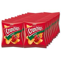 Lorenz Crunchips Paprika 25g, Chips, Snack, 20 Beutel