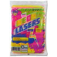 Schleckpulver-Stangen Neon Lasers, Brause-Pulver 240Stk