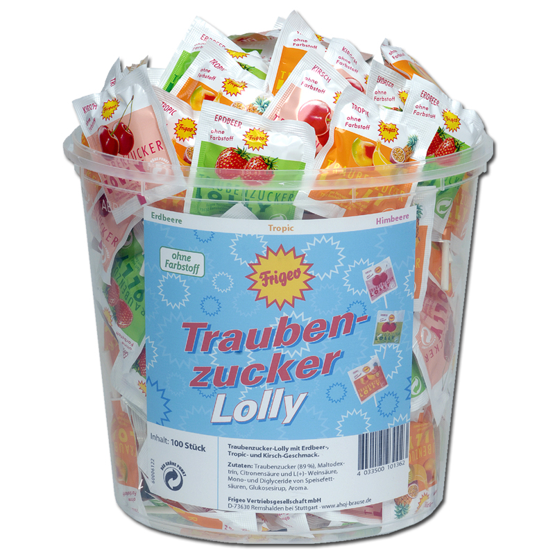 Frigeo Traubenzucker Lolly