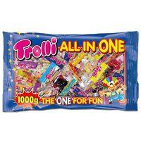 Trolli All in One Minibeutel, Fruchtgummi, 50 Beutel
