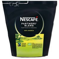 Nescafe Partners Blend Instantkaffee 250g Beutel Fairtrade