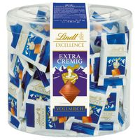 Lindt Excellence Vollmilch Mini-Tafeln Schokolade 70Stk