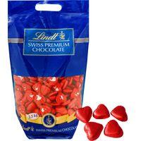 Lindt Herzli Milch rot 2,5 Kg, Schokolade, Praline