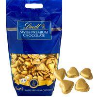 Lindt Herzli Milch gold 2,5 kg, Schokolade, Praline