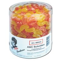 Küfa A & C Schnitten Fruchtbonbons 2 Kg