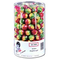 Küfa Frucht-Kugel-Lutscher, Lolly, 100 Stück