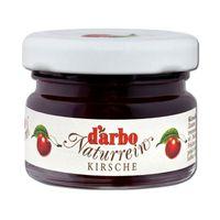 Darbo Kirsch Konfitüre im Miniglas, Naturrein, 60 Stück