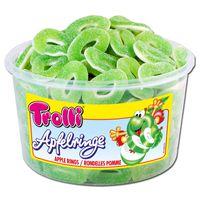Trolli Saure Apfelringe, Fruchtgummi, 150 Stück