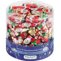 Riegelein Weihnachtsmänner, Riegel, Schokolade 70 Stück
