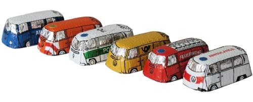 Storz Choco Bus Busse Aus Vollmilchschokolade 120 Stück Sweets