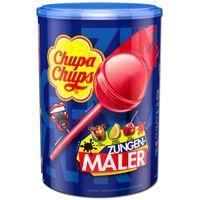Chupa Chups Zungenmaler Lutscher, Lolly, 100 Stück