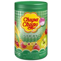 Chupa Chups Fruit Lutscher, Lollipop, 100 Frucht-Lutscher