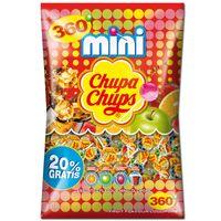 Chupa Chups Mini Lutscher im Beutel, Lolly, 360 Stück