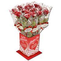 Günthart Marzipan Rose rot, Geschenkartikel, 20 Stück
